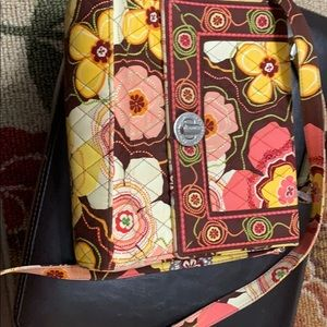 Vera Bradley cross body gently used fall colors
